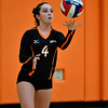 10/4/2016 Mike Orazzi | Staff<br /> Terryville volleyball's Victoria Barbour (4).