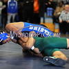 1/27/2016 Mike Orazzi | Staff<br /> Bristol Eastern's Mikey Barrett pins Maloney's Markeese Thompson in the 152 Wednesday night.