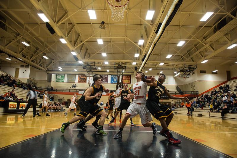 UTHS / Bettendorf Basketball