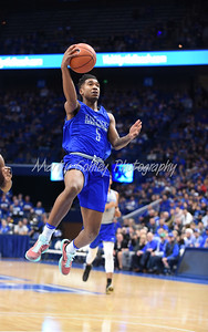 Malik Monk jumps for the layup on Saturday evening during the UK Blue-White game.  MARTY CONLEY/ FOR THE DAILY INDEPENDENT
