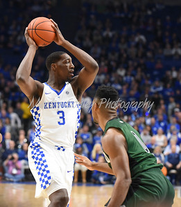 Kentucky's Bam Adebayo looks for an open teammate on Wednesday against Cleveland State.  MARTY CONLEY/ FOR THE DAILY INDEPENDENT