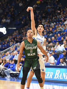 Kentucky's Derek Willis follows through on a jump shot against Cleveland State on Wednesday.  MARTY CONLEY/ FOR THE DAILY INDEPENDENT