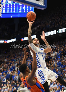 Kentucky's Mychal Mulder goes up strong to the basket on Saturday against Florida.  MARTY CONLEY/ FOR THE DAILY INDEPENDENT