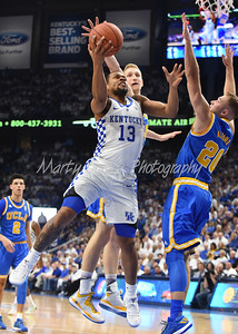 Kentucky's Isaiah Briscoe goes up strong on Saturday against UCLA.  MARTY CONLEY/ FOR THE DAILY INDEPENDENT