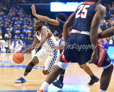 Dominique Hawkins of Kentucky drives the lane against UT-Martin on Friday evening.  MARTY CONLEY/ FOR THE DAILY INDEPENDENT