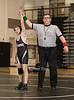 Varsity High School Wrestling. Ithaca Lil Red at Corning Hawks. December 14, 2016.