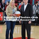 NCAA BASKETBALL:  FEB 24 Dayton at Davidson