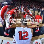 NCAA BASKETBALL:  JAN 11 Fordham at Davidson