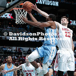 NCAA BASKETBALL:  DEC 01 #13 North Carolina vs Davidson