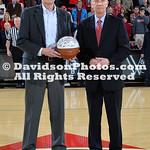 NCAA BASKETBALL:  JAN 28 Richmondl at Davidson