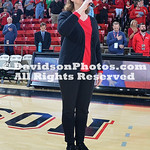 NCAA BASKETBALL:  FEB 11 Fordham at Davidson