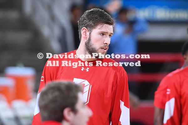 NCAA BASKETBALL:  FEB 22 Rhode Island at Davidson