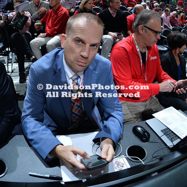 NCAA BASKETBALL:  NOV 22 Wake Forest vs Davidson