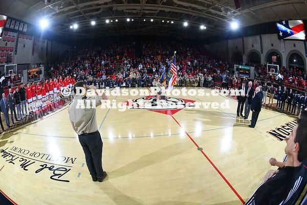 NCAA BASKETBALL:  JAN 11 Saint Joseph's at Davidson