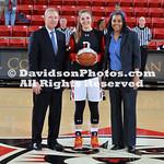 NCAA WOMENS BASKETBALL:  JAN 18 George Mason at Davidson