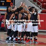 NCAA WOMENS BASKETBALL:  JAN 12 UMass at Davidson