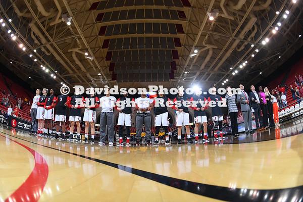 NCAA WOMENS BASKETBALL:  NOV 03 Johnson C Smith at Davidson