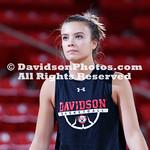 NCAA BASKETBALL:  NOV 05 Georgetown at Davidson