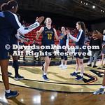NCAA WOMENS BASKETBALL:  MAR 03 Atlantic 10 Women's Basketball Conference Championship - La Salle at Davidson