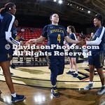NCAA WOMENS BASKETBALL:  MAR 03 La Salle at Davidson