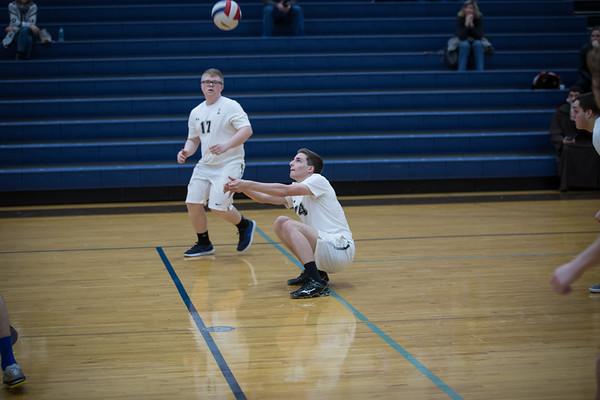 2017 JCA Mens Sophomore Volleyball vs Lockport