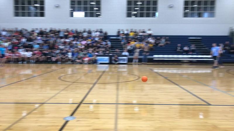 2017 Senior vs Teacher Dodgeball