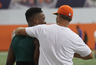 Dabo and Amari Rodgers
