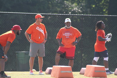 Dabo and Arizona RB coach