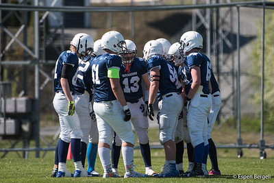 2017-05-06 Drammen Warriors U17