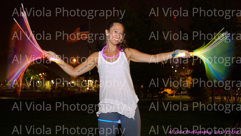 2017-09-22 Night Market & Glow Yoga