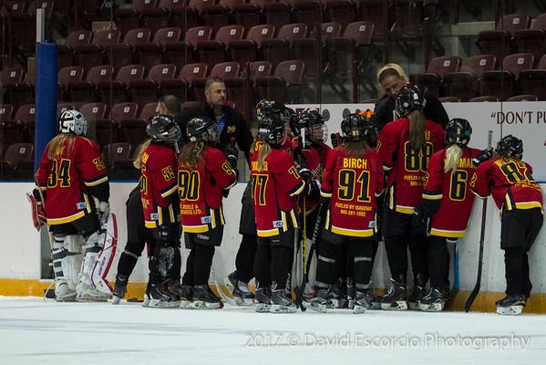 Flames vs Saigeen-Maitland  Sept. 22, 2017