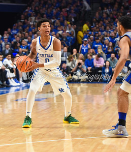 Quade Green of Kentucky looks to make a pass inside against Fort Wayne on Wednesday evening.  MARTY CONLEY/ FOR THE DAILY INDEPENDENT