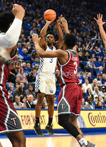 Hamidou Diallo of Kentucky shoots a jump shot on Monday against Troy.  MARTY CONLEY/ FOR THE DAILY INDEPENDENT