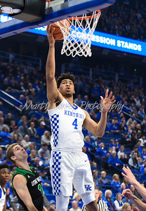 Kentucky's Nick Richards lays up a shot on Friday evening against Utah Valley.  MARTY CONLEY/ FOR THE DAILY INDEPENDENT