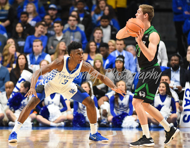 Hamidou Diallo of Kentucky defends Conner Toolson of Utah Valley on Friday evening.  MARTY CONLEY/ FOR THE DAILY INDEPENDENT