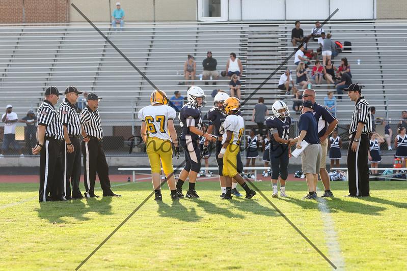 EY Junior High vs West York 9.21.17