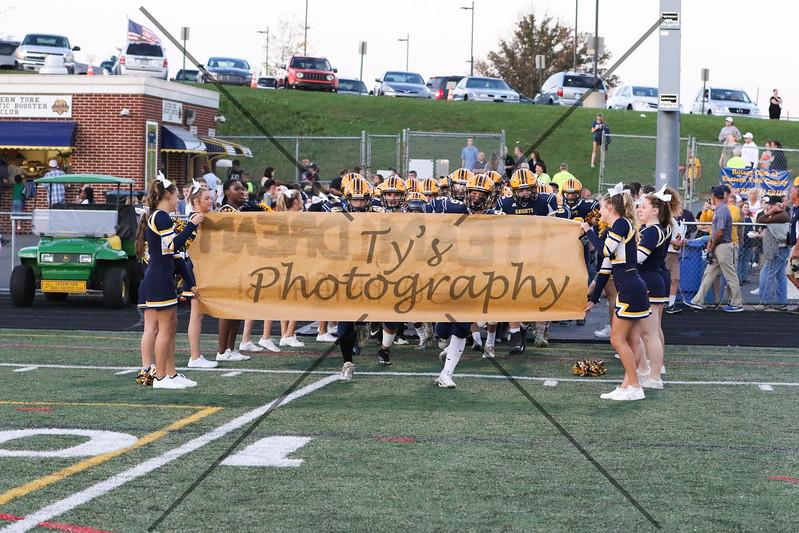 EY Varsity vs West York 9.22.17