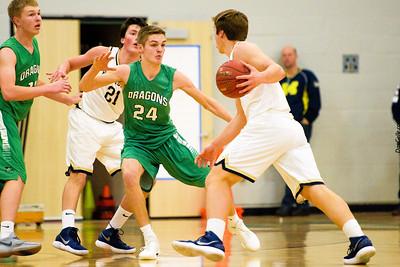 Dragon Boys Basketball vs Providence Academy