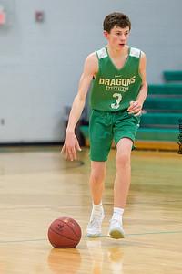 Dragon Boys Basketball vs DC Chargers