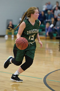 Dragon Girls Basketball vs EVW Eagles