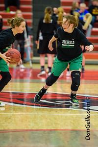 Dragons Girls Basketball vs NLS Wildcats