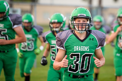 Litchfield Dragons FB vs Annandale