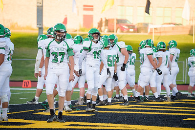 Dragon Football vs NLS Wildcats