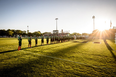 Dragon Football Tackle Cancer vs Holy Family Fire