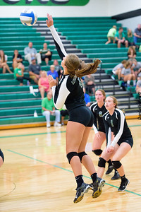 Dragon Volleyball vs Maple Lake