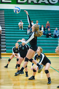 Dargon Volleyball vs Renville West
