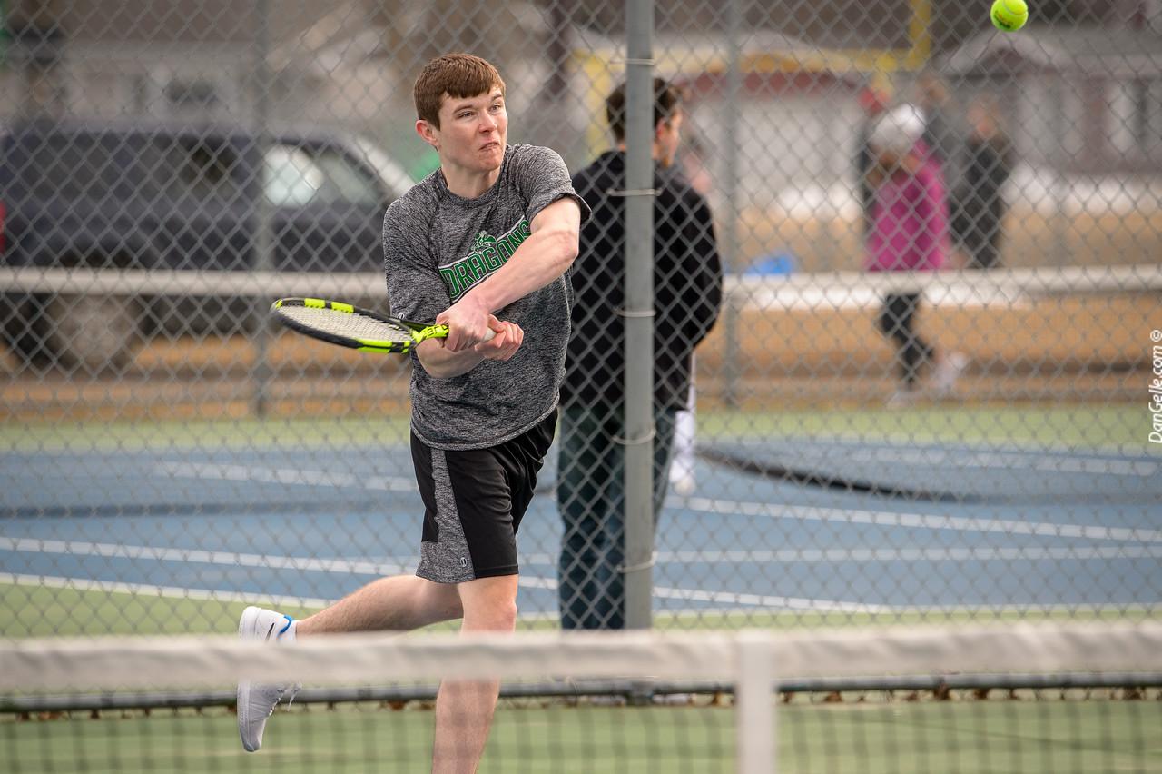Dragon Boys Tennis vs  St. Cloud Tech