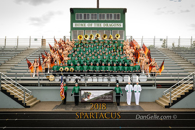 "Marching Dragons 2018 ""Spartacus"""