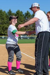 Dragons Softball vs Blake Strike Out Cancer Game