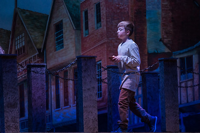 Colin McDermott as the lead character in Abington High School/Middle Schools presentation of Oliver [Courtesy Photo/Bill Marquardt]